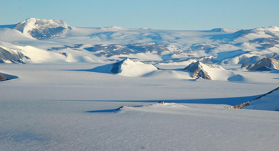 Die Princess Elisabeth Antarctica Station steht in auf dem antarktischen Kontinent und dient für mehrere Länder als Basis für antarktische Studien. Auch die Schweiz ist dabei, aktiv dort zu forschen. Foto: International Polar Foundation, René Robert