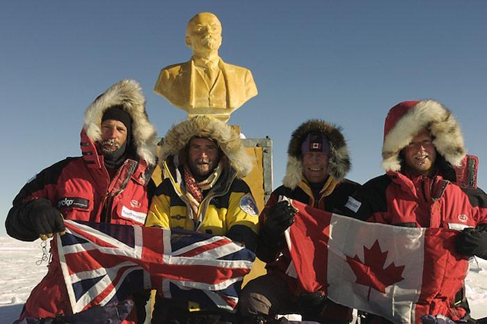 Expeditionsgruppe vor Lenin