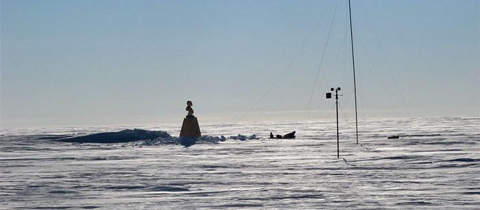 Lenin am Südpol