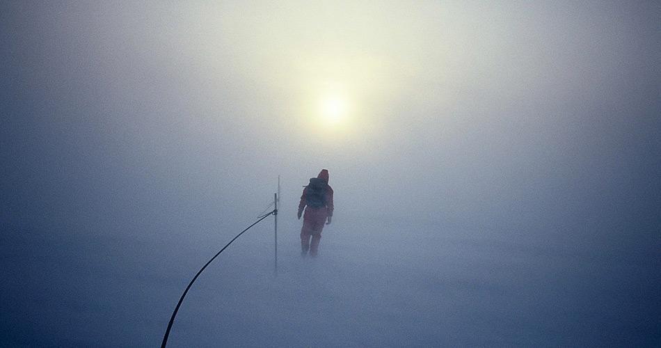 Einsamkeit ist eine der häufigsten Gefühlsregungen, die man während der Wintermonate auf einer Antarktisstation erlebt. (Bild: Katja Riedel)