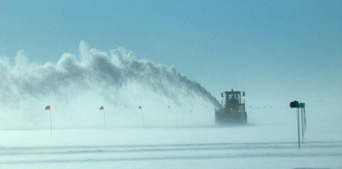 McMurdo Schneeraeumung
