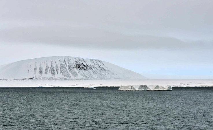 Der russische Inselarchipel Sewernaja Semlja liegt an der russischen Nordmeerküste vor der Taymyr
