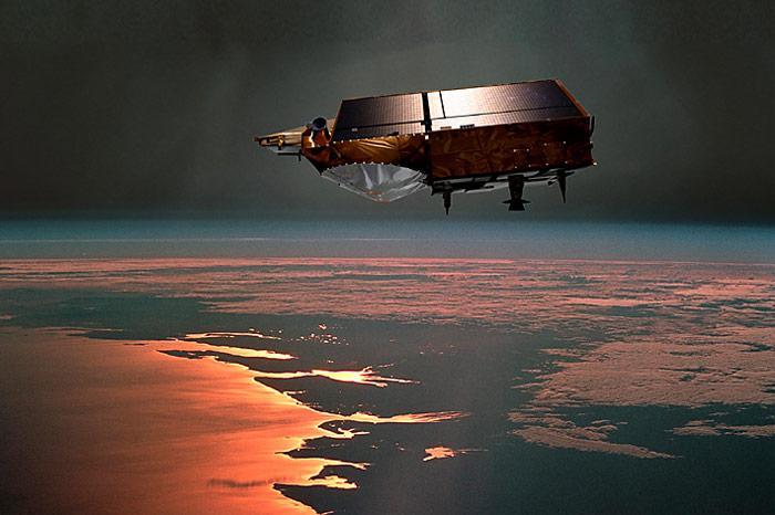 Cryosat-Umlaufbahn