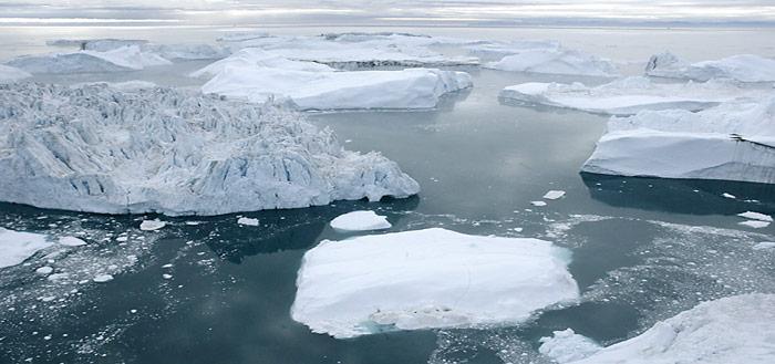Gletscher-Wasser