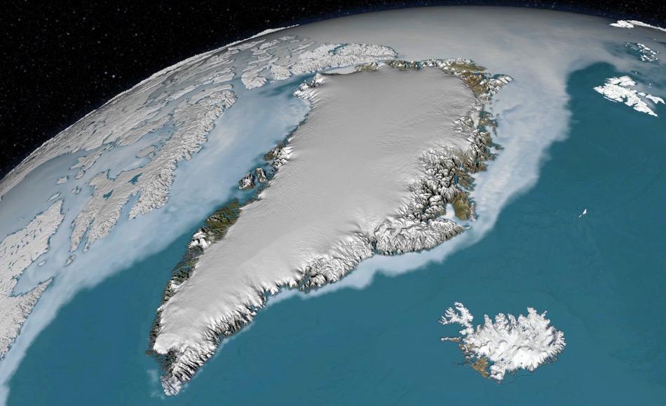 Dank der Satellitenbilder und der jährlichen ICEBridge-Mission der NASA konnten Forscher genaue Modelle des Eispanzers erstellen und vor allem die verschiedenen Schichten aufzeigen, die in den letzten Jahrtausenden abgelagert worden waren. Bild: NASA