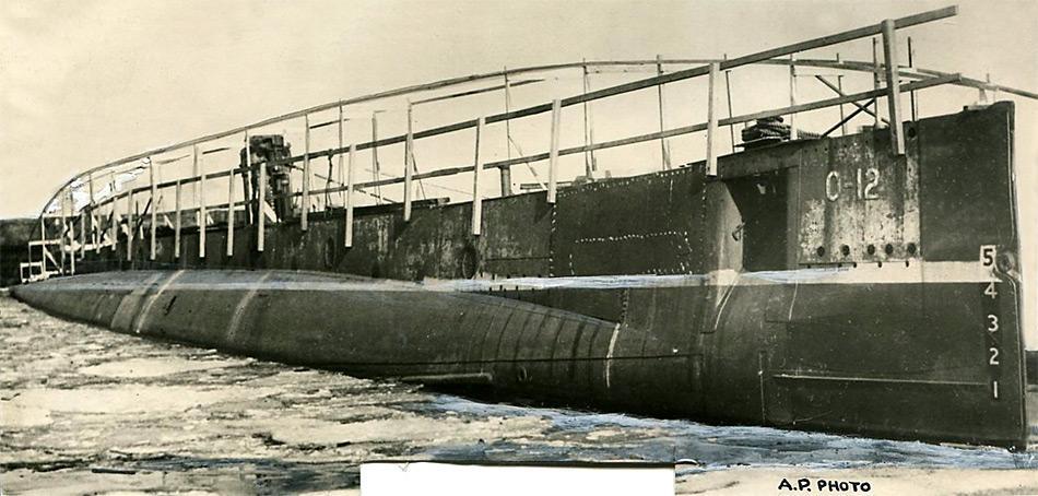 Das U-Boot konnte mit 20 Mann Besatzung maximal fünf Tage unter Wasser bleiben.