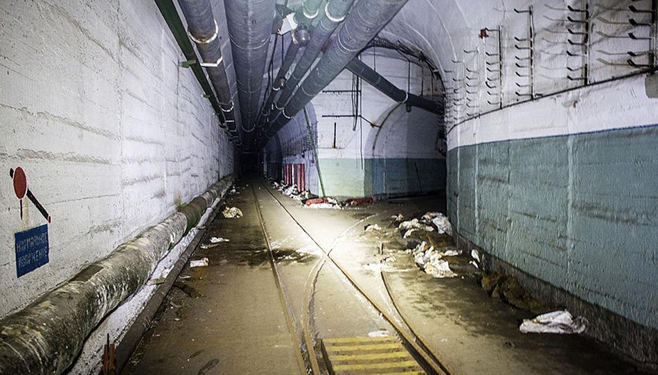Die Tunnels zu den Lagerstätten der Sprengköpfe und Raketen waren mehrere Kilometer lang.