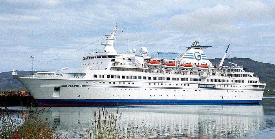 Die Webseite der Reederei verspricht, dass bei Expeditions-Reisen in die nördliche Polarregion auf der MS Delphin renommierte Experten an Bord seien. Wie sich nun zeigte stimmt dies nicht immer.