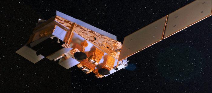 Der «Suomi NPP» Satellit wurde am 28.10.2011 ins All geschossen und soll in den nächsten 5 Jahre Wetterdaten liefern.