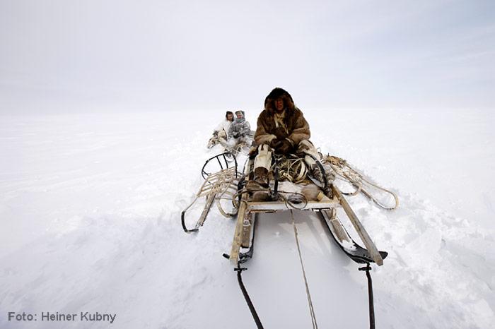 Chukotka-Schlittenfahren
