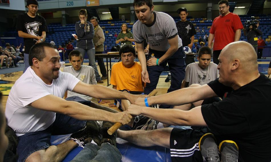 Inuit Stock ziehen