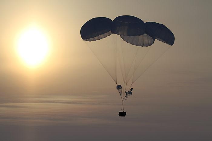 Fallschirm Sonne