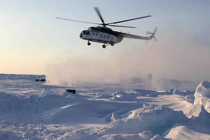 Erste Hubschrauber